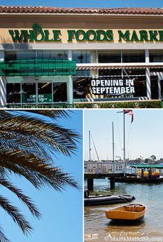 A visit to Newport Beach, California on FamilyFreshCooking.com © MarlaMeridith.com #travel