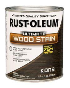 rustoleum kona stain