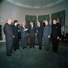 """KN-C26715. President John F. Kennedy Receives U.S. Commission on Civil Rights Report, """"Freedom to the Free"""" - John F. Kennedy Presidential Library & Museum"""