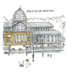 Palacio de Cristal. Madrid.  Jacobo Pérez-Enciso