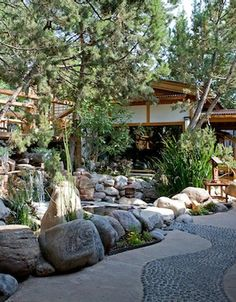 10,000 waves spa.. in Santa Fe, New Mexico, hot stone massage in the winter is the best thing