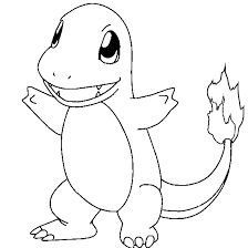 pokemon coloring pages charmeleon - Google Search