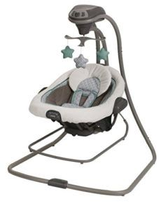 Keep your baby content with this Duet Connect LX Swing and Bouncer by Graco. Finished in a simple manor color, this two-speed swing features several speeds and sounds to help your baby relax, with three soft toys for entertainment. Babies R Us, Babies Stuff, Toddler Stuff, Graco Baby Swing, Bouncer Swing, Infant Toddler, Toddler Toys, Baby Boys, Bench Press