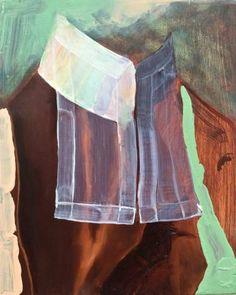 """Saatchi Art Artist Louise giovanelli; Painting, """"'Collar'"""" #art"""