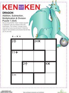 52 best number puzzles kenken images number puzzles