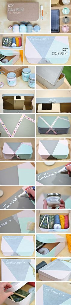 Chalk paint tutorial http://idoproyect.com/blog/diy-con-chalk-paint/