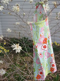 With two grandbabies coming soon, someone might like this ---made by the mama monster: nursing cover tutorial
