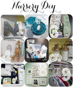 Nursery DIY & Organization: Great ideas to follow - diaper caddy and breastfeeding basket