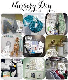 Nursery DIY & Organization: Great ideas to follow - diaper caddy and breastfeeding basket
