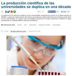 La producción científica de las universidades se duplica en una década / @ciencia_uc3m + @agencia_sinc | #readytoresearch #readyforsciencecommunication