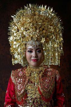 Minang Bride from West Sumatra