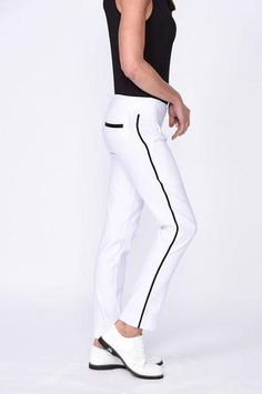 Feel triumphantåÊGolftini s brand new Stretch Pull-On Trophy Women s Golf  Pants! Thanks to a wide elastic tummy control waistband and slimming  stretch ... 957fc3dab080