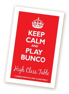 Bunco Theme Ideas - LL Papergoods