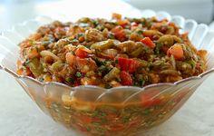 Armenian Grilled Vegetable Salad