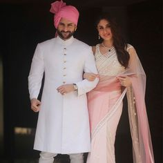 Soha Ali Khan and Kunal Khemu Wedding & Reception Looks