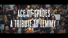 """""""Ace Of Spades"""" - Tribute to Lemmy with members of Shinedown and much more! """"Ace Of Spades"""" - Tribute to Lemmy - ( Kiko from MEGADETH HALESTORM...) @ Hellfest 2016"""