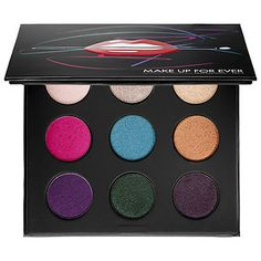 MAKE UP FOR EVER - Artist Palette Volume 2 – Artistic  in Colors You Crave - I-872, ME-910, S-924, D-552, ME-232, ME-302, ME-512, ME-700, ME-930 #sephora