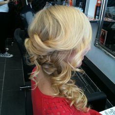Fabulous #updo from our Richmond #salon. Book in at http://bit.ly/WFb4jJ #blowdrybar