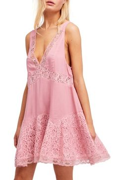 FREE PEOPLE ANY PARTY SLIPDRESS. #freepeople #cloth #