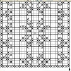 Lace insertion or edging in filet crochet Crochet Table Runner, Table Runner Pattern, Crochet Tablecloth, Crochet Doilies, Filet Crochet Charts, Crochet Diagram, Knitting Charts, Crochet Pattern, Knitting Patterns