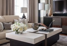 Bayswater Family Home - Living Room Detail - Interior Design by Intarya – Interior Design by Intarya