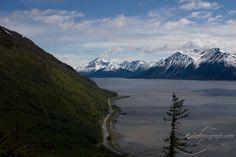 Turnagain Arm (Seward Highway) just south of Anchorage, Alaska
