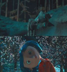 Coraline and the Cat
