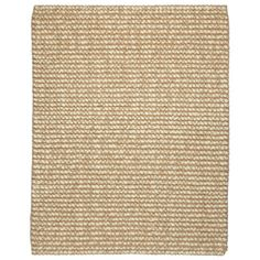 This woven wool-and-jute area rug adds texture and lends a beach house feel. | $91