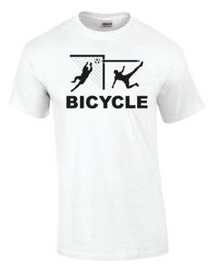Bicycle Soccer T-Shirt - Goal Kick Soccer - 1