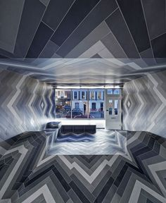 ♂ Commercial retail interior design Pulsate by Lily Jencks and Nathanael Dorent