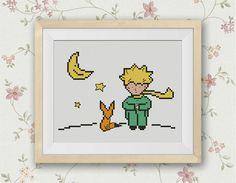 BOGO FREE The Little Prince Cross Stitch Pattern Le by StitchLine Cross Stitch Books, Cross Stitch Art, Cross Stitching, Cross Stitch Patterns, Diy Embroidery, Cross Stitch Embroidery, Embroidery Patterns, Little Prince Party, The Little Prince