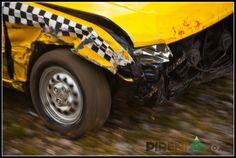 car crash a Encamp