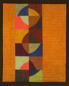 """""""Marbles"""" a variation on Drunkard's Path quilt pattern Posted by Cindy Grisdela on Oct 30, 2014 on Craftsy"""