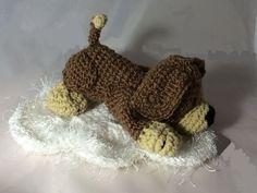 Häkelanleitung, Hund Bello - Häkelanleitungen bei Makerist