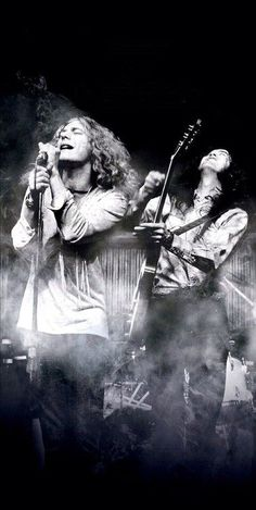 Led Zeppelin were an English rock band formed in London in The band consisted of guitarist Jimmy Page, singer Robert Plant, bassist and keyboardist John Paul Jones, and drummer John Bonham. Music Love, Music Is Life, Rock Music, John Bonham, John Paul Jones, Great Bands, Cool Bands, Heavy Metal, Robert Plant Led Zeppelin