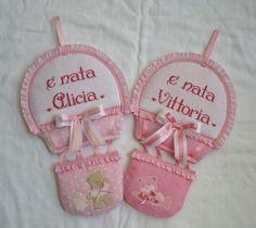 Fiocco Mongolfiera per Alicia e Vittoria - Dall'album di Michela