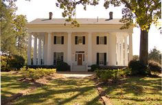"""ANTEBELLUM means """"before war"""" in Latin. The term Antebellum refers to elegant plantation homes built in the American South during the 30 years or so preceding the Civil War."""