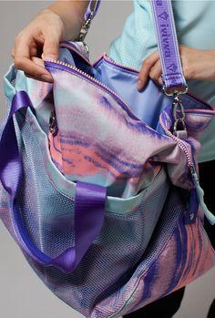 mesh pocket for your sweaty gear. | Gear Up Duffle