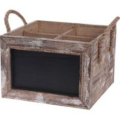 Chalkboard Wine Caddy