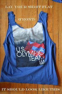 Homemade is Better: HOW TO: No Sew Tank Top from an Old T-Shirt