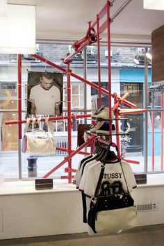 SCAFFOLDING : STUDIO XAG - a concept which is becoming more popular as upcycling takes its grip on sustainable design.