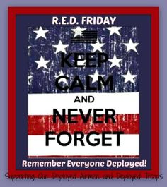RED FRIDAY | Keep Calm