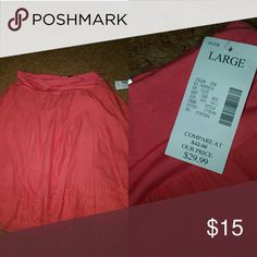 Summer Skirt Never worn, coral colored skirt Fashion Bug Skirts Midi