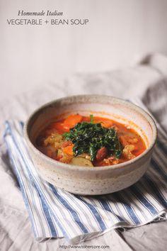 Zuppa di Mumma Italian vegetable soup - to her core