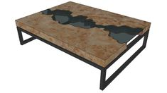 Greg Klassen River Collection Coffee Table 1 - 3D Warehouse