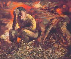 George Grosz : Caïn ou Hitler en enfer 1944