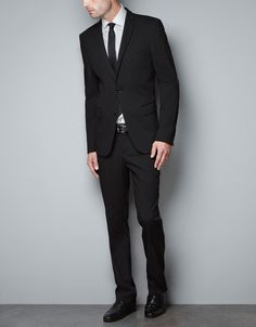 Great Outfit w/ BLACK BLAZER - Suits - Man - ZARA United States