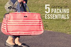 5 Travel Packing Essentials (+ How to Fit Them All in Your Carry-On)