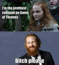 Game of Thrones humor.