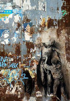Ernest Pignon Ernest. I LOVE STREET ART
